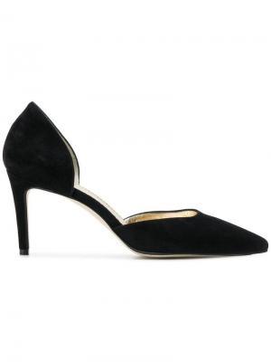 Туфли с прорезями сбоку Antonio Barbato. Цвет: черный