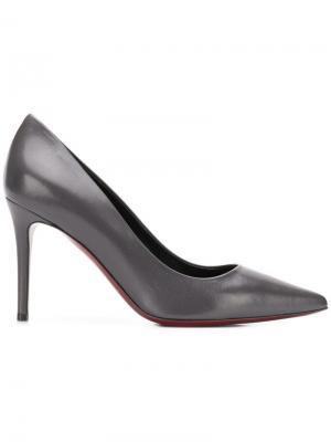 Туфли-лодочки на высоком каблуке Deimille. Цвет: серый