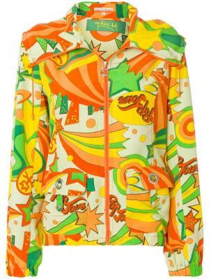Куртка с принтом Jc De Castelbajac Vintage. Цвет: разноцветный