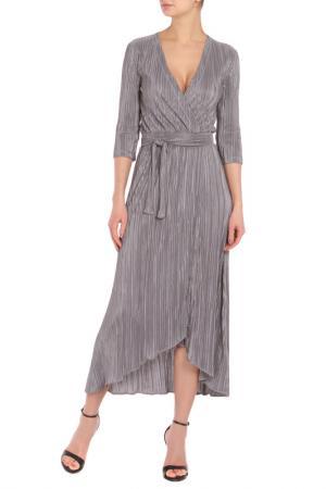 Платье Say. Цвет: серый