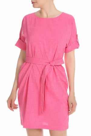 Платье ELISEEVA OLESYA. Цвет: бордовый