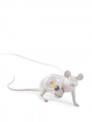 Лампа Lying Mouse Seletti. Цвет: белый