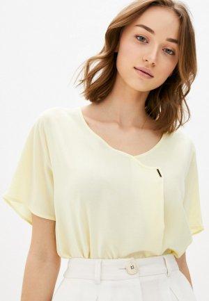 Блуза Baon. Цвет: желтый
