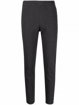 Cropped stetch-cotton trousers Kristensen Du Nord. Цвет: серый