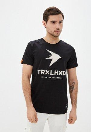 Футболка Trailhead. Цвет: черный