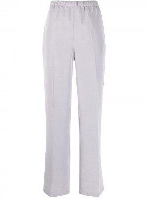 Прямые брюки с завышенной талией Our Legacy. Цвет: серый