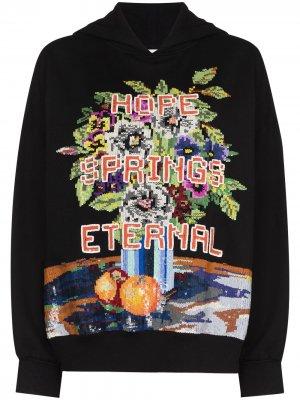 Худи Hope Spring Eternal с пайетками Ashish. Цвет: черный
