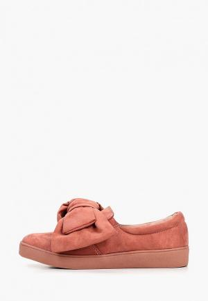 Слипоны Max Shoes. Цвет: коралловый