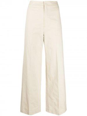 Широкие брюки Alysi. Цвет: нейтральные цвета