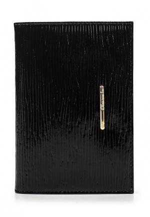 Обложка для паспорта Dimanche. Цвет: черный