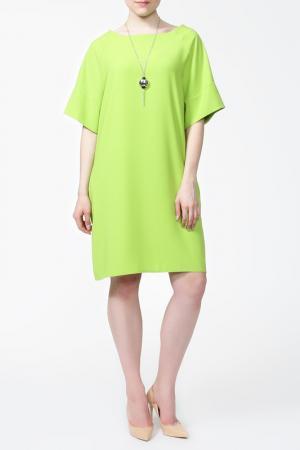 Платье с подвеской First Orme. Цвет: салатовый