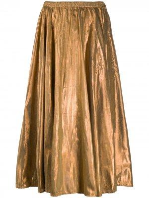 Пышная юбка Luxor Mes Demoiselles. Цвет: коричневый