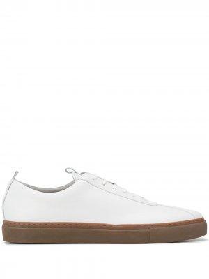 Кеды на шнуровке Grenson. Цвет: белый