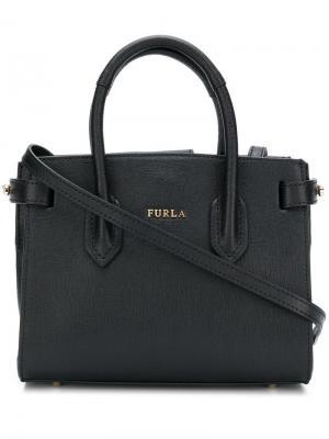 Mini Pin tote Furla. Цвет: черный