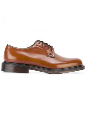 Churchs классические ботинки Дерби Church's. Цвет: коричневый