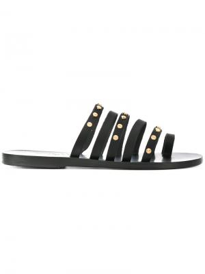 Сандалии Niki Nails Ancient Greek Sandals. Цвет: черный