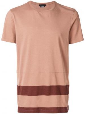 Striped T-shirt Qasimi. Цвет: нейтральные цвета