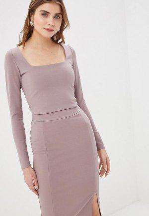 Блуза Imocean. Цвет: серый