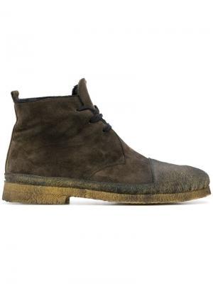 Ботинки на шнуровке Rocco P.. Цвет: коричневый