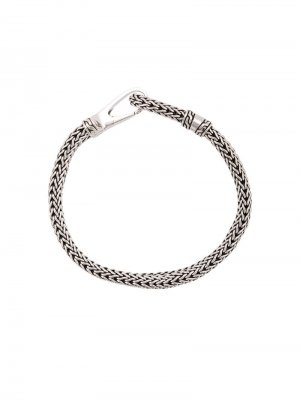 Silver Classic Chain Bracelet with Hook Clasp John Hardy. Цвет: золотистый