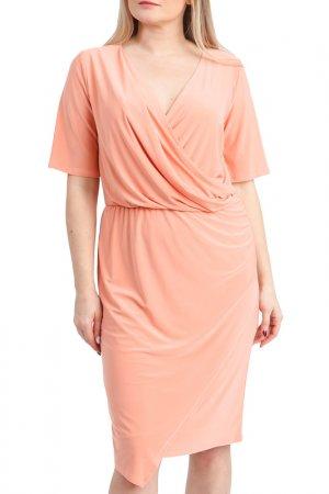 Платье LACY. Цвет: оранжевый