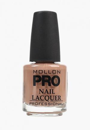 Лак для ногтей Mollon Pro. Цвет: коричневый