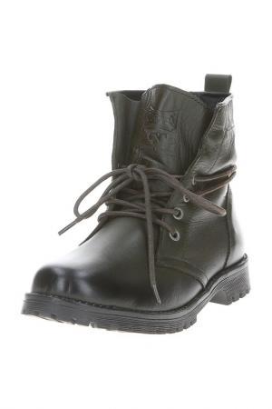 Ботинки GOERGO. Цвет: оливковый