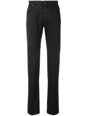 Slim fit trousers Jacob Cohen. Цвет: черный