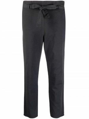 Укороченные брюки с завязками Kristensen Du Nord. Цвет: серый