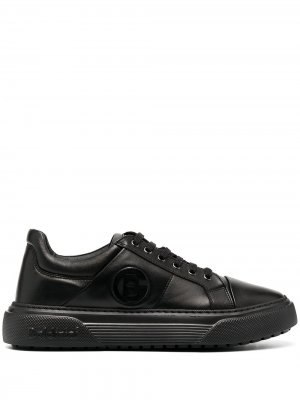 Кроссовки на шнуровке Baldinini. Цвет: черный-000000