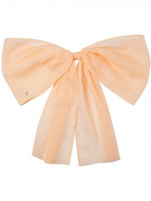 Заколка для волос Wicole Maison Michel. Цвет: оранжевый