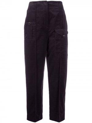 Зауженные брюки Esmeralda Temperley London. Цвет: фиолетовый