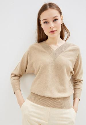 Пуловер Lusio. Цвет: бежевый