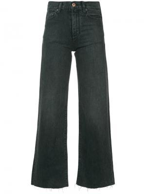 Широкие джинсы Simon Miller. Цвет: черный