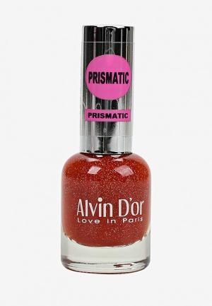 Гель-лак для ногтей Alvin Dor D'or. Цвет: красный