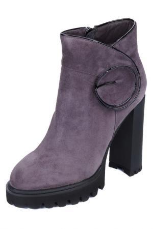 Ботинки MARIE COLLET. Цвет: серый