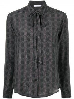 Клетчатая блузка Société Anonyme. Цвет: серый