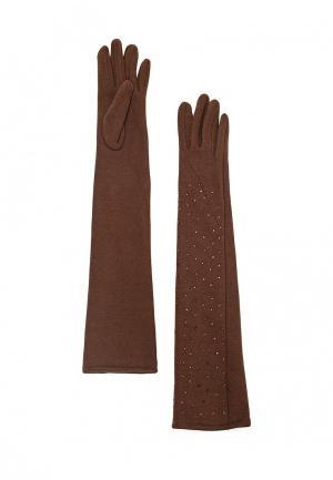 Перчатки Venera. Цвет: коричневый
