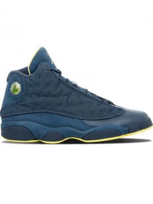 Кроссовки Air  13 Retro Jordan. Цвет: синий