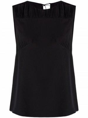 Блузка со складками PAUL SMITH. Цвет: черный