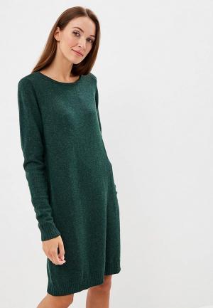 Платье Vila. Цвет: зеленый