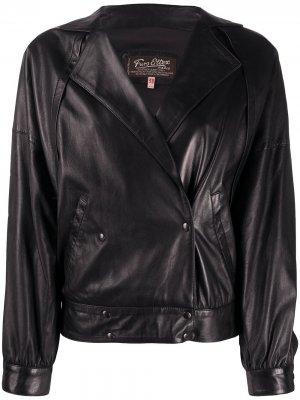Двубортная куртка 1980-х годов A.N.G.E.L.O. Vintage Cult. Цвет: черный