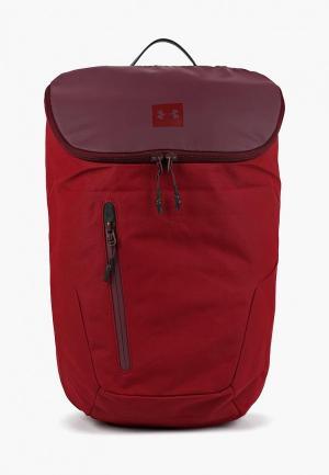 Рюкзак Under Armour. Цвет: бордовый