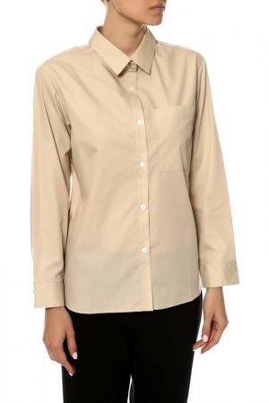 Рубашка Tsunoda. Цвет: бежевый
