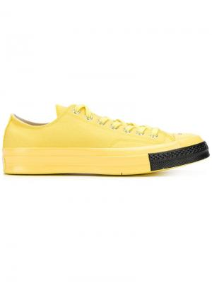 X Undercover low-top trainers Converse. Цвет: желтый
