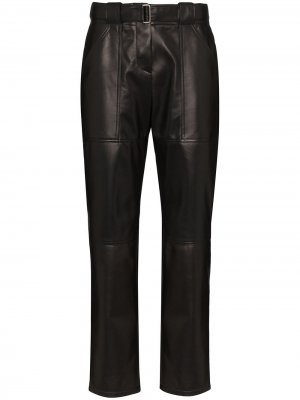 Зауженные брюки Rosetta Getty. Цвет: черный
