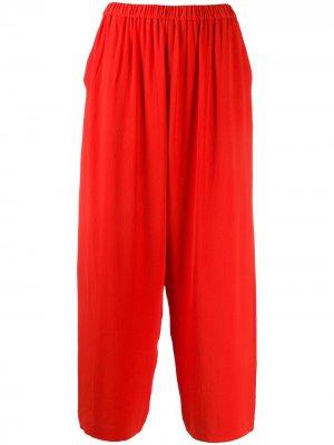 Укороченные брюки широкого кроя HENRIK VIBSKOV. Цвет: оранжевый