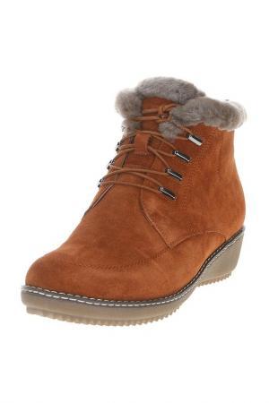Ботинки Berkonty. Цвет: оранжевый