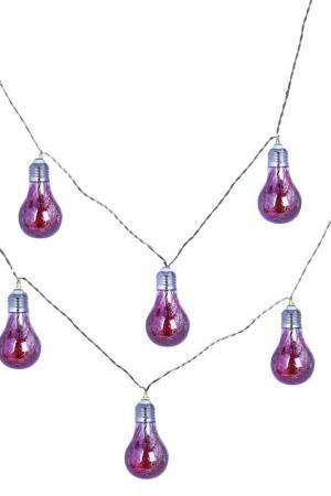 Гирлянда из 8 лампочек DUE ESSE CHRISTMAS. Цвет: красный