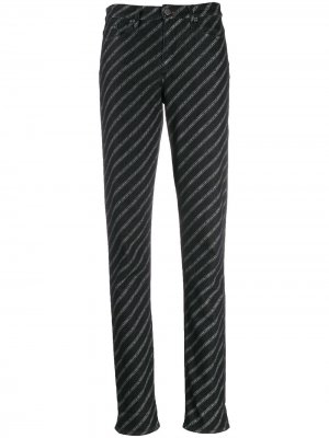 Джинсы с логотипом Karl Lagerfeld. Цвет: черный